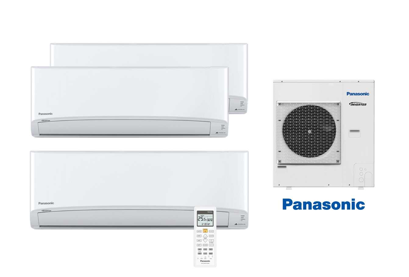 High Wall Multi-Split Air Conditioning Small