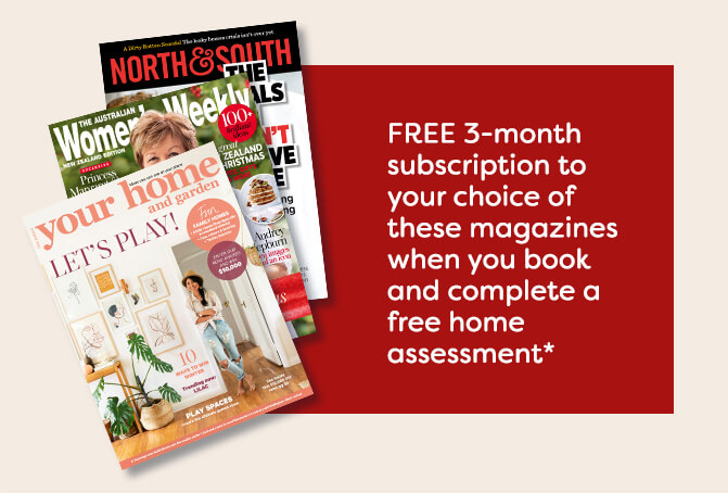 Your FREE 3-month subscription to your choice of magazines