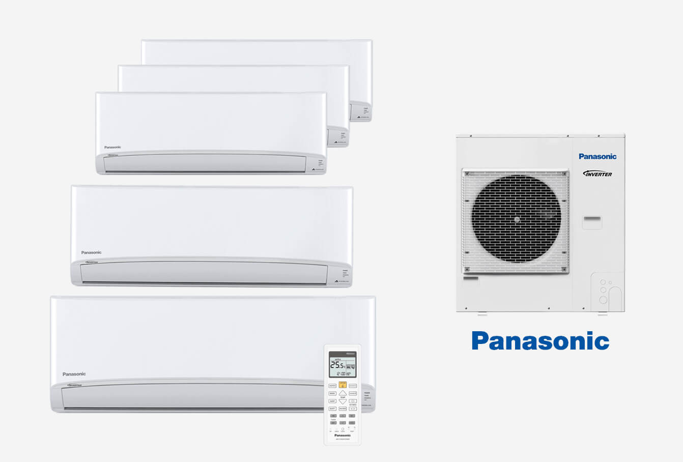 High Wall Multi-Split Air Conditioning Large