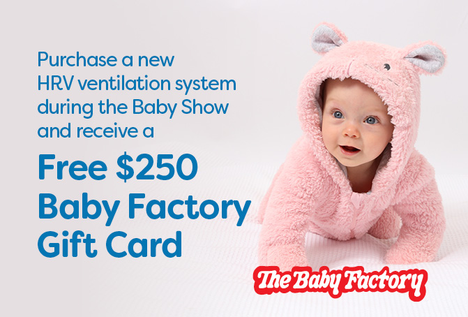 FREE $250 Baby Factory Gift Card