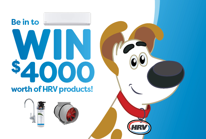Win $4,000 worth of HRV products*