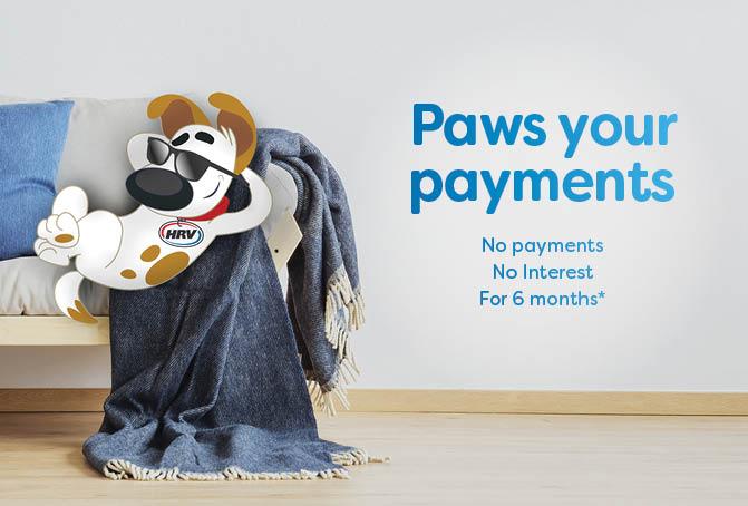 6 months no payments & no interest