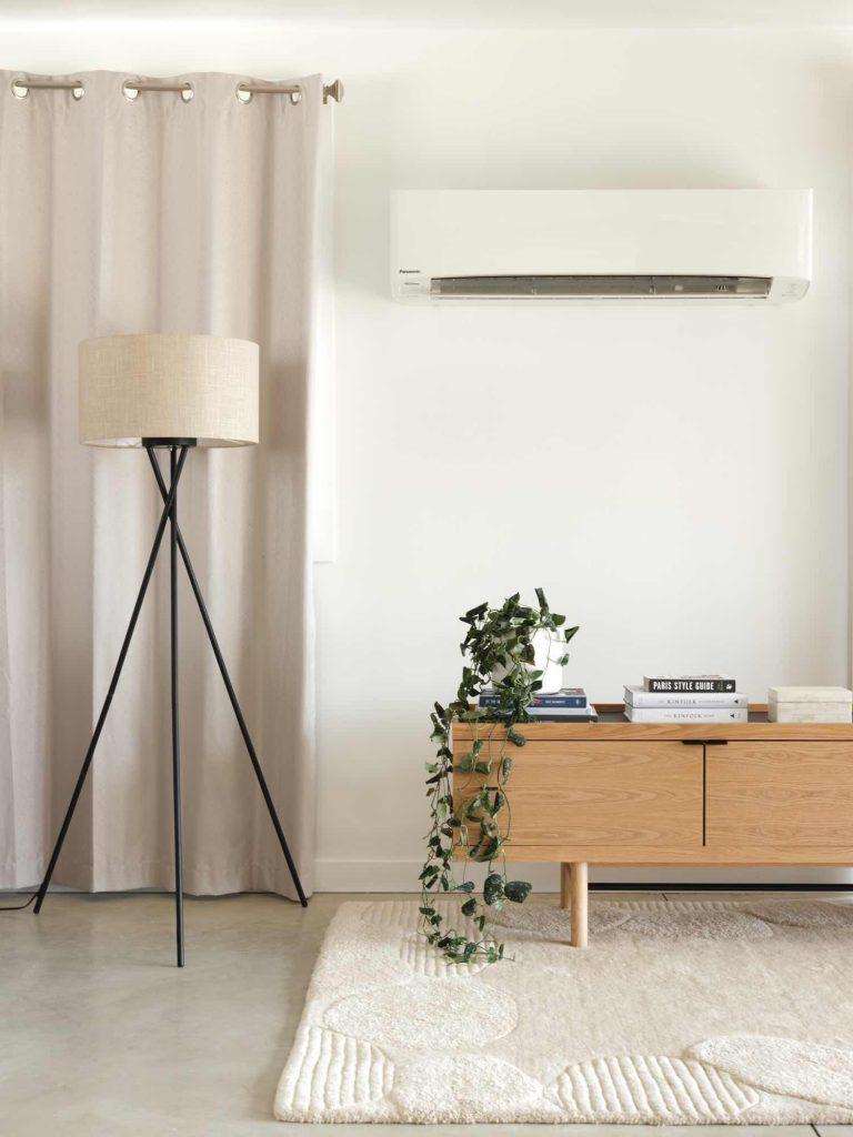 HRV Heat Pump On Wall