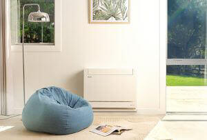 hrv heat pump floor console