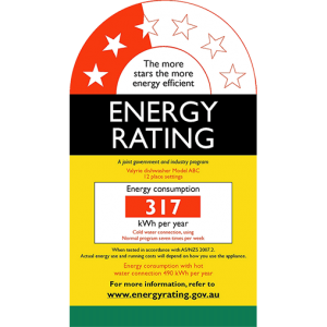 energy rating label example