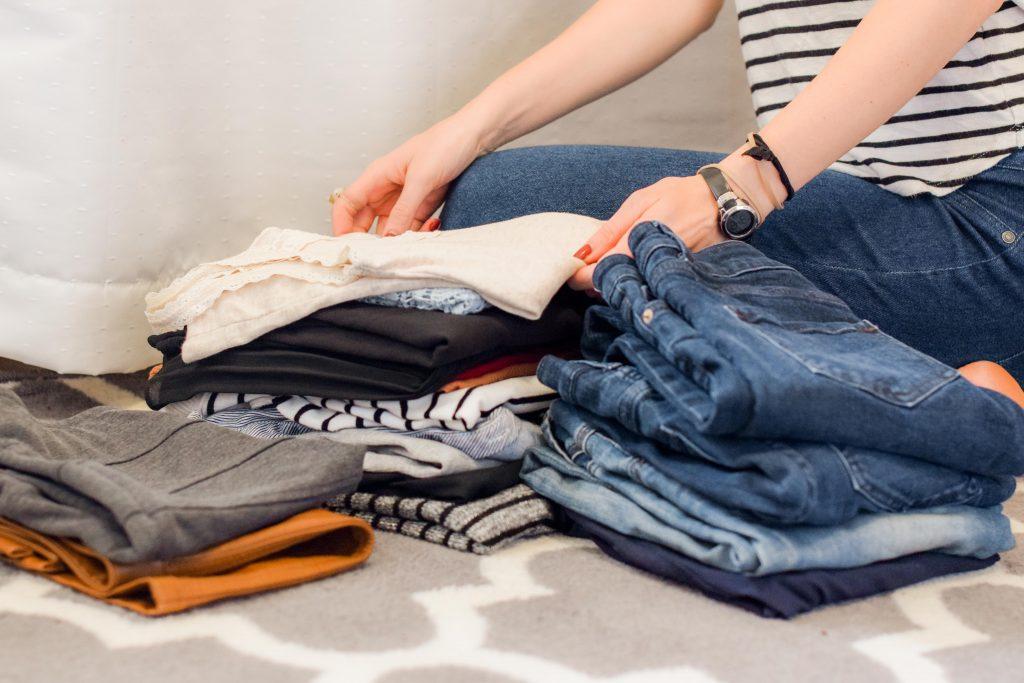 folding clothing